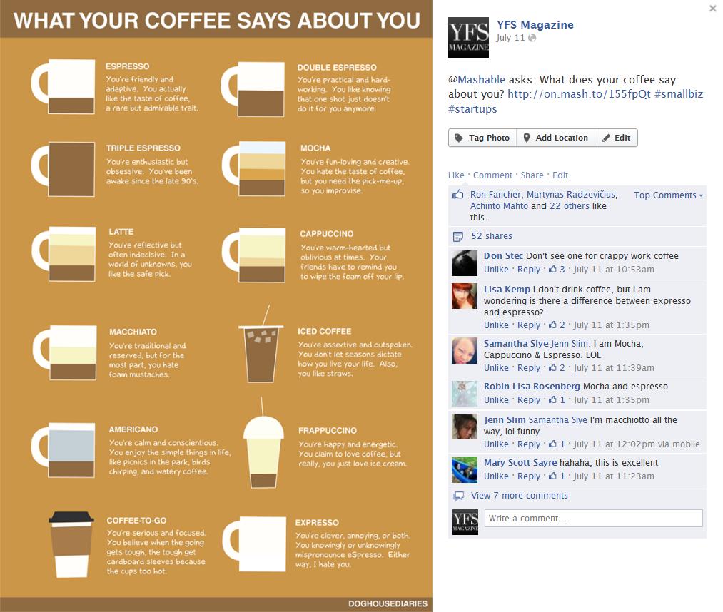 YFS Magazine on Facebook