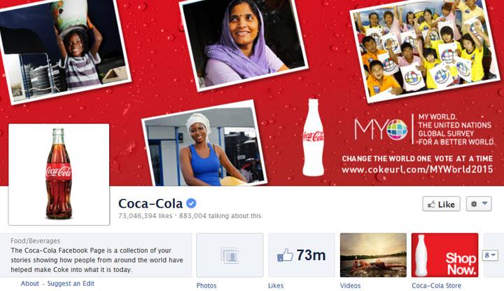 CocaCola-Facebook