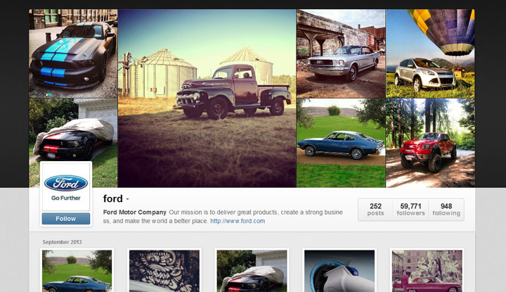 Ford-Instagram
