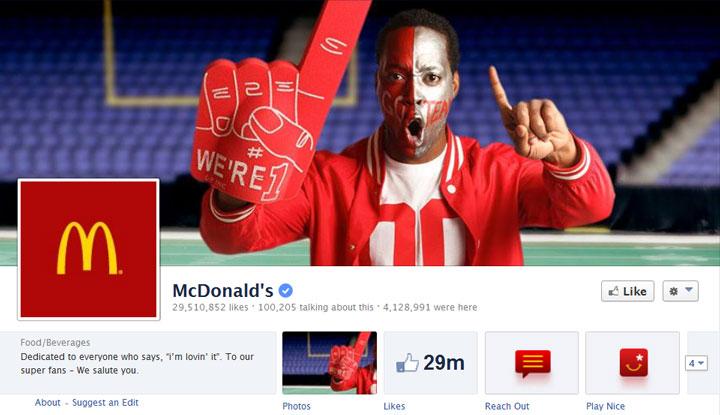 McDonalds-Facebook