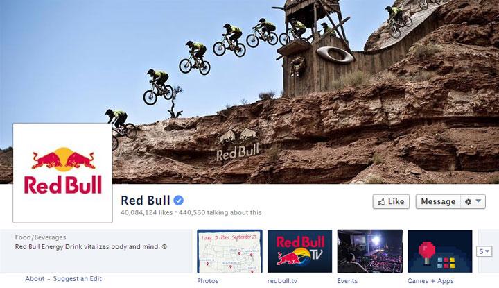 RedBull-Facebook