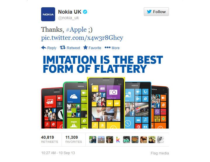 Nokia UK Twitter