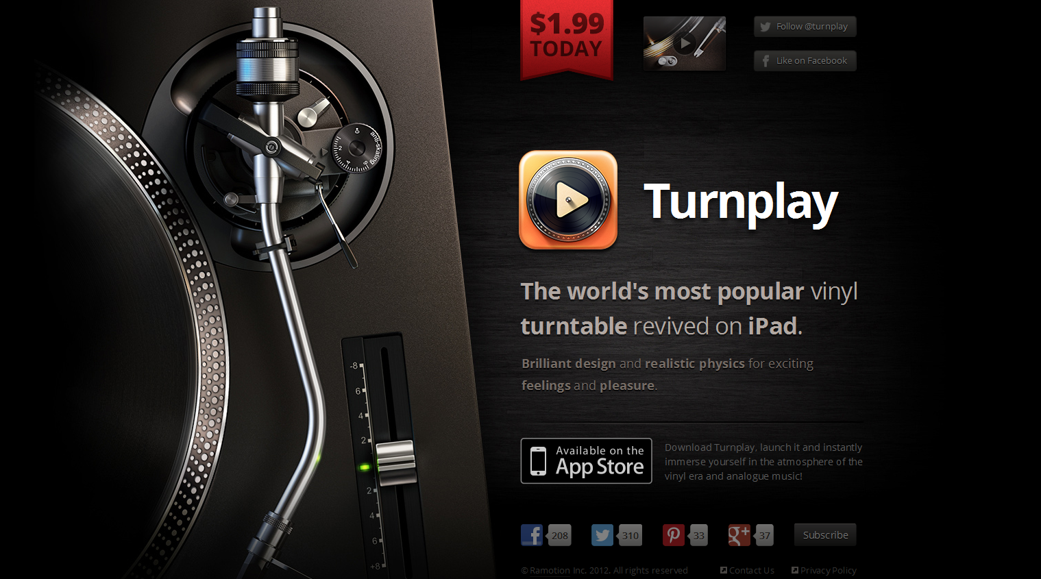 Photo: Turnplay; Source: http://turnplay.ramotion.com/en